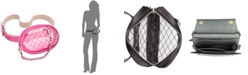 Steve Madden Swag-Chain Clear Belt Bag