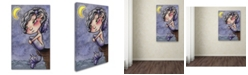 "Trademark Global Jennifer Nilsson Tattered Wings Canvas Art - 16"" x 20"" x 0.5"""