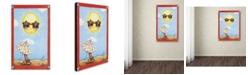 """Trademark Global Jennifer Nilsson Fun in the Sun Canvas Art - 11"""" x 14"""" x 0.5"""""""