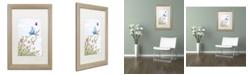 "Trademark Global Jennifer Nilsson Spring Welcome Matted Framed Art - 16"" x 20"" x 0.5"""