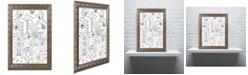 "Trademark Global Jennifer Nilsson Live Happy Ornate Framed Art - 16"" x 16"" x 0.5"""