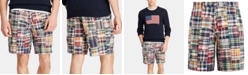 """Polo Ralph Lauren Men's Classic-Fit 9.25"""" Madras Shorts, Created for Macy's"""