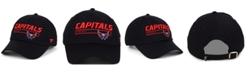 Authentic NHL Headwear Washington Capitals Rinkside Fundamental Adjustable Cap