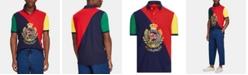 Polo Ralph Lauren Men's Nautical Crest Classic-Fit Stretch Mesh Polo Shirt