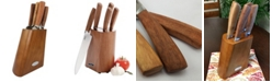 Megagoods Inc/Gibson Oster Cuisine Carrillo 6 Piece Cutlery Set with Rubberwood Block