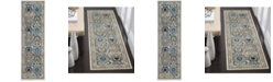 "Safavieh Evoke Ivory and Grey 2'2"" x 7' Runner Area Rug"