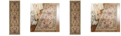 "Safavieh Kashan Ivory and Taupe 2'6"" x 8' Sisal Weave Runner Area Rug"
