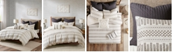 INK+IVY Rhea Full/Queen 3-Piece Cotton Jacquard Duvet Cover Mini Set