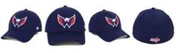 Authentic NHL Headwear Washington Capitals Basic Flex Stretch Fitted Cap