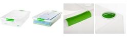 IRIS USA Iris 40 Quart Under bed Store and Slide Storage Box, 6 Pack