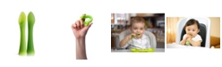 Olababy 100% Silicone Soft-Tip Training Spoon For Baby Led Weaning 2 Pack