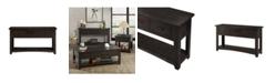 Martin Svensson Home Rustic Collection Sofa - Console Table, Espresso