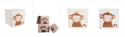 Design Imports Kid Cube Monkey, Square with Lid
