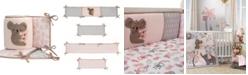 Lambs & Ivy Calypso Koala 4-Piece Baby Crib Bumper