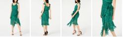 INC International Concepts I.N.C. Animal-Print Ruffled Dress, Created for Macy's
