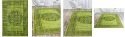 """Bridgeport Home Linport Lin5 Sage Green 8' x 11' 6"""" Area Rug"""