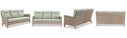 Furniture Grand Stafford Outdoor Sofa with Sunbrella® Cushions