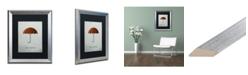 "Trademark Global Christian Jackson 'Mary Poppins' Matted Framed Art - 16"" x 20"""