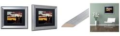 """Trademark Global Jason Shaffer 'Cooper Foster' Matted Framed Art - 14"""" x 11"""""""