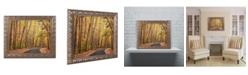 """Trademark Global Jason Shaffer 'Findlay Road' Ornate Framed Art - 14"""" x 11"""""""