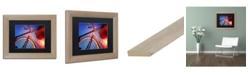 "Trademark Global Jason Shaffer 'Fixie' Matted Framed Art - 14"" x 11"""