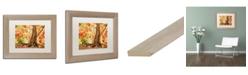 "Trademark Global Jason Shaffer 'Hang Tight' Matted Framed Art - 14"" x 11"""