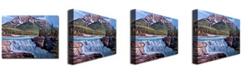 "Trademark Global David Lloyd Glover 'Thundering River' Canvas Art - 47"" x 35"""