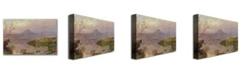 "Trademark Global Jasper Cropsey 'Sugarloaf from Wickham Lake' Canvas Art - 47"" x 30"""