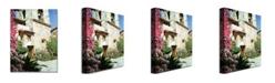 "Trademark Global David Lloyd Glover 'Mission Carmel Bell Tower' Canvas Art - 32"" x 22"""
