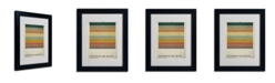 """Trademark Global Christian Jackson 'The Princess and the Pea' Matted Framed Art - 14"""" x 11"""""""