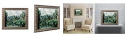 "Trademark Global Paul Cezanne 'The Banks of the Marne at Creteil' Ornate Framed Art - 16"" x 20"""