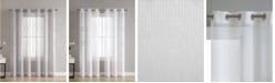 VCNY Home Danby Knit Semi Sheer 38X84 Panel Pair