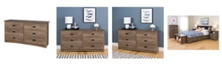Prepac Salt Spring 6-Drawer Dresser