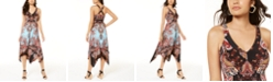 INC International Concepts INC Printed Handkerchief-Hem Dress, Created for Macy's