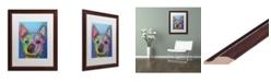 "Trademark Global Dean Russo 'Ozzie' Matted Framed Art - 16"" x 20"""