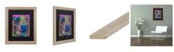 """Trademark Global Dean Russo 'Oliver 16' Matted Framed Art - 16"""" x 20"""""""