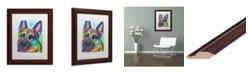 """Trademark Global Dean Russo 'Reza 20' Matted Framed Art - 11"""" x 14"""""""