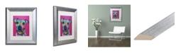 "Trademark Global Dean Russo 'Rosa 23' Matted Framed Art - 11"" x 14"""