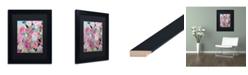 "Trademark Global Carrie Schmitt 'Whimsy' Matted Framed Art - 11"" x 14"""