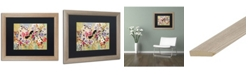 "Trademark Global Natasha Wescoat '004' Matted Framed Art - 16"" x 20"""
