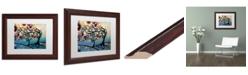 "Trademark Global Natasha Wescoat '011' Matted Framed Art - 11"" x 14"""
