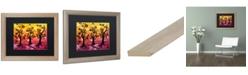"Trademark Global Natasha Wescoat '077' Matted Framed Art - 16"" x 20"""