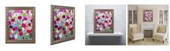 """Trademark Global Carrie Schmitt 'Making Wishes' Ornate Framed Art - 16"""" x 20"""""""