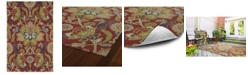 """Kaleen Home and Porch 2042-25 Red 5' x 7'6"""" Area Rug"""