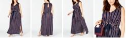 Love Squared Trendy Plus Size Striped Maxi Dress