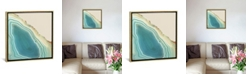 """iCanvas Turquoise Agate by Nature Magick Gallery-Wrapped Canvas Print - 18"""" x 18"""" x 0.75"""""""