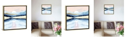 """iCanvas Winter Reflection by Spacefrog Designs Gallery-Wrapped Canvas Print - 18"""" x 18"""" x 0.75"""""""