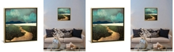 """iCanvas Distant Land by Spacefrog Designs Gallery-Wrapped Canvas Print - 18"""" x 18"""" x 0.75"""""""