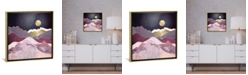"""iCanvas Raspberry Dream by Spacefrog Designs Gallery-Wrapped Canvas Print - 18"""" x 18"""" x 0.75"""""""