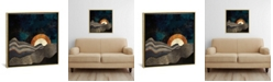 """iCanvas Gold and Silver Fields by Spacefrog Designs Gallery-Wrapped Canvas Print - 26"""" x 26"""" x 0.75"""""""